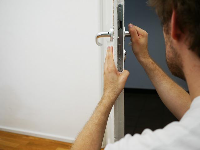 cambio cerradura puerta