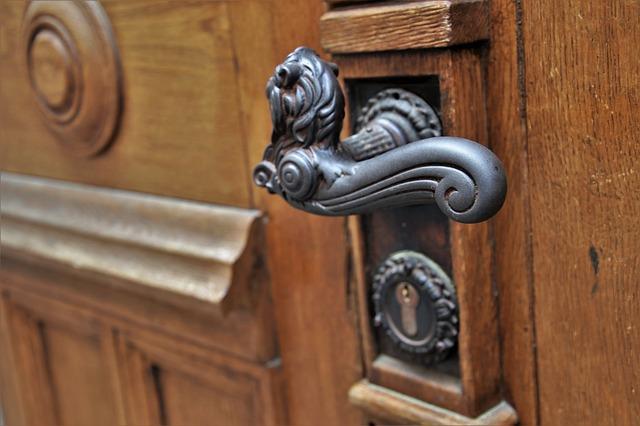 seguridad puerta entrada